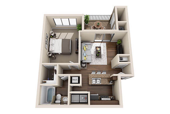 Andover Woods Ansley Floor Plan