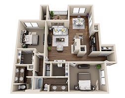 Andover Woods Dunhill Floor Plan